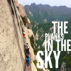 Planks in the Sky, Mt Huashan, China