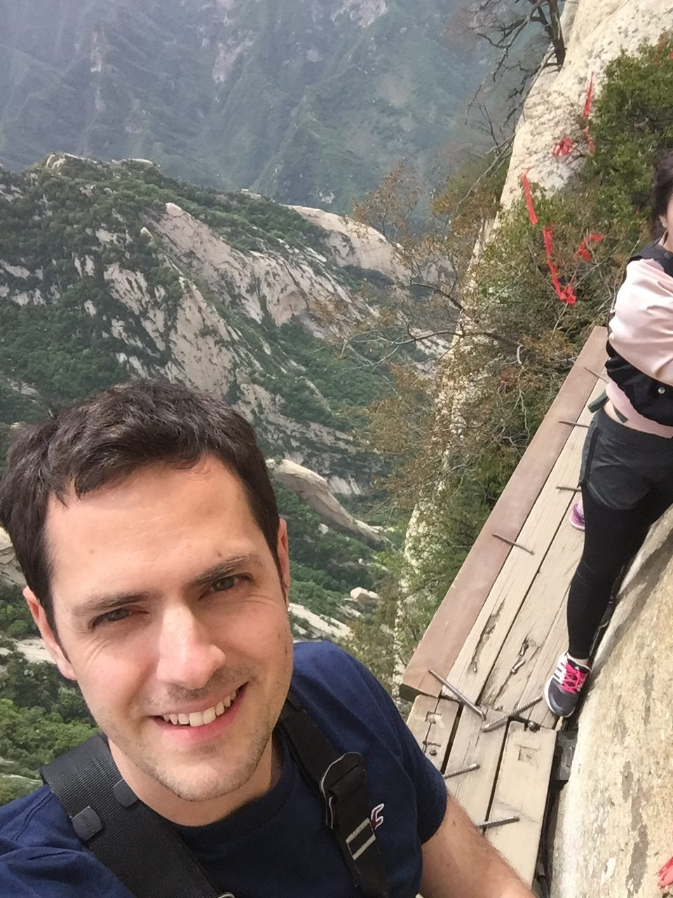 The Obligatory Selfie on Mt Huashan