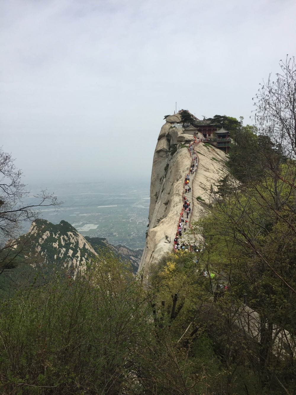 Mt Huashan's West Peak