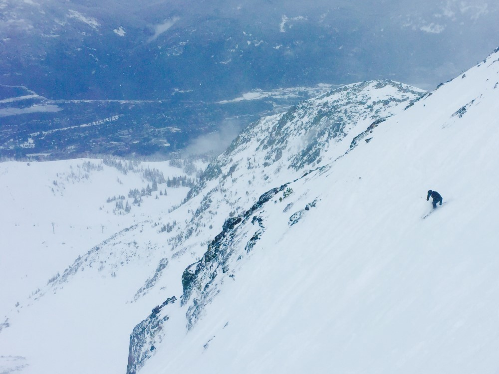 Coulour Extreme on Blackcomb Mountain