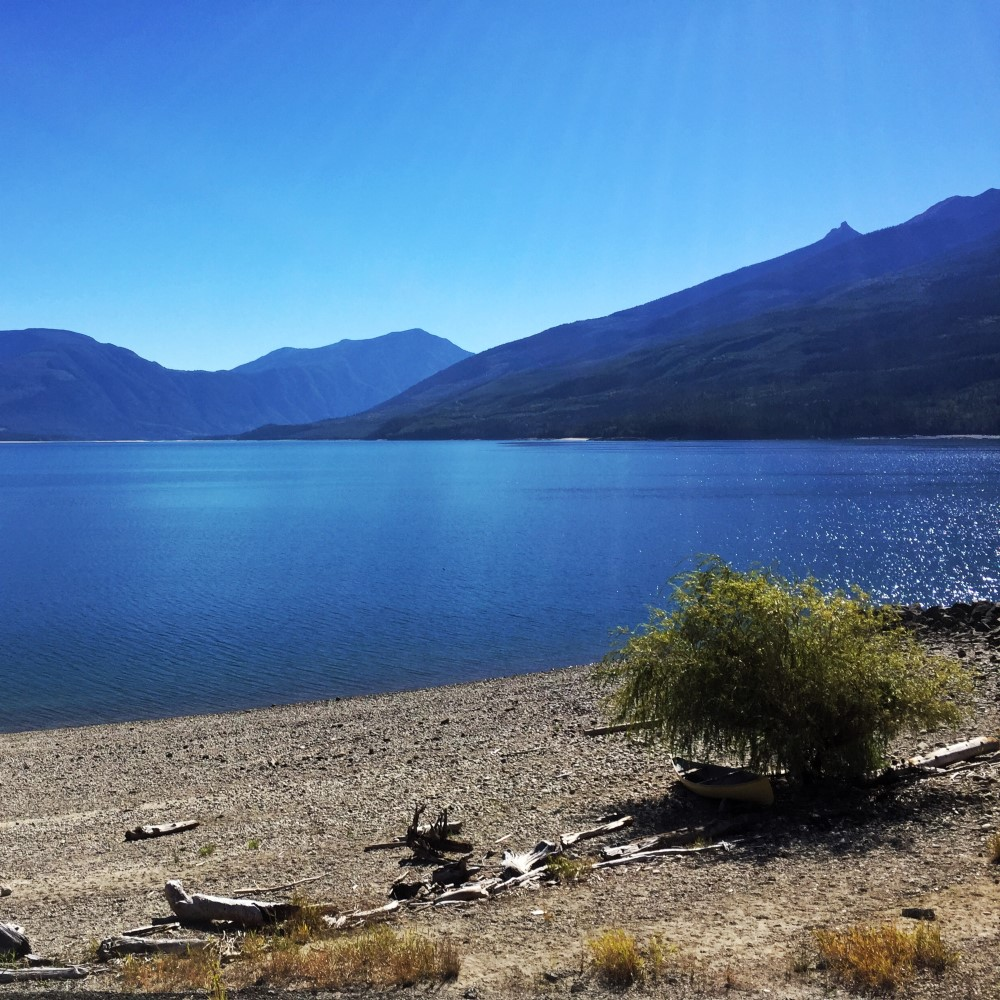 Upper Arrow Lake from Nakusp