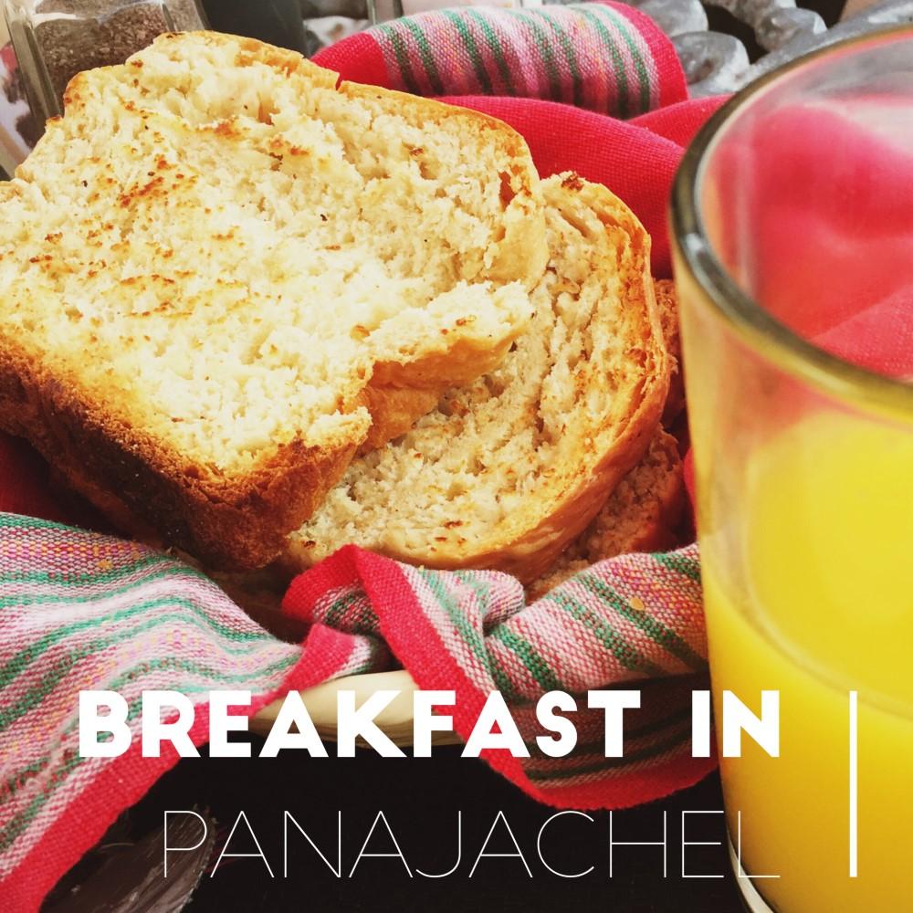 Breakfast in Panajachel, Guatemala